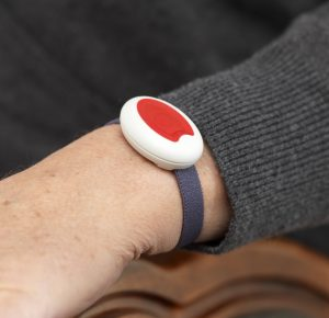 Wrist Alarm - Personal alarms and fall detectors from Careline SOS