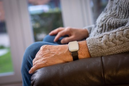 Fall Detector alarms and emergency fall support wrist alarms for the elderly - Careline SOS Essex